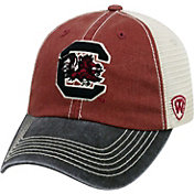 Top of the World Men's South Carolina Gamecocks Garnet/White/Black Off Road Adjustable Hat