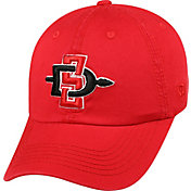Top of the World Men's San Diego State Aztecs Scarlet Crew Adjustable Hat