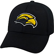 Top of the World Men's Southern Miss Golden Eagles Black Premium Collection M-Fit Hat