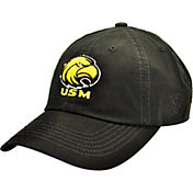 Top of the World Men's Southern Miss Golden Eagles Black Crew Adjustable Hat