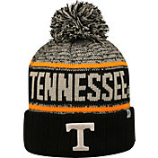 Top of the World Men's Tennessee Volunteers Black/White/Tennessee Orange Acid Rain Knit Beanie