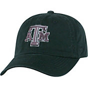 Top of the World Men's Texas A&M Aggies Black Crew Adjustable Hat