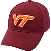 Top of the World Men's Virginia Tech Hokies Maroon Premium Collection M-Fit Hat