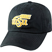 Top of the World Men's Wichita State Shockers Black Crew Adjustable Hat