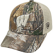 Top of the World Men's Wisconsin Badgers Camo Prey Hat