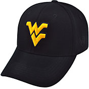 Top of the World Men's West Virginia Mountaineers Black Premium Collection M-Fit Hat