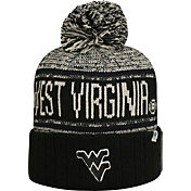 Top of the World Men's West Virginia Mountaineers Blue/White Acid Rain Knit Beanie