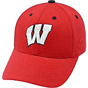 Top of the World Youth Wisconsin Badgers Red Rookie Hat