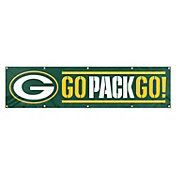 Green Bay Packers Go Pack Go! Giant 8' x 2' Banner
