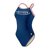 TYR Girls' Guard Dimaxback Tank Swimsuit