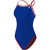 TYR Women's Solid Reversible Diamondfit Swimsuit