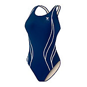 TYR Women's Alliance Team Durafast Splice Maxback Tank Swimsuit