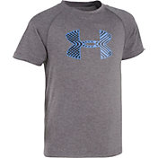 Under Armour Little Boys' Midtown Grid Big Logo T-Shirt