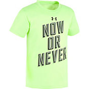Under Armour Little Boys' Now Or Never T-Shirt