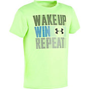 Under Armour Little Boys' Wake Up Win Repeat T-Shirt