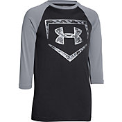 Under Armour Boys' 9 Strong ¾ Sleeve Shirt