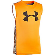 Under Armour Little Boys' Big Logo Realtree Tank Top