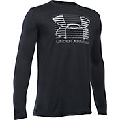 Under Armour Boys' Breakthrough Logo Long Sleeve Shirt