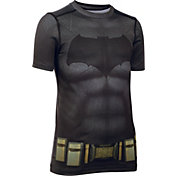 Under Armor Boys' Alter Ego Batman HeatGear Fitted T-Shirt