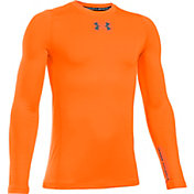 Under Armour Boys' ColdGear Armour Crew Long Sleeve Shirt