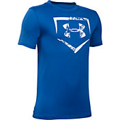 Under Armour Boys' Diamond Logo Baseball T-Shirt