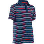 Under Armour Boys' coldblack Draw Golf Polo