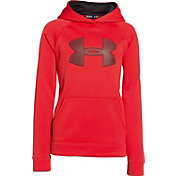 Under Armour Boys' Storm Armour Fleece Big Logo Hoodie