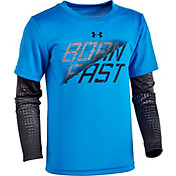 Under Armour Little Boys' Electro Noise Slider Long Sleeve Shirt
