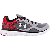 Under Armour Kids' Grade School Micro G Velocity Running Shoes