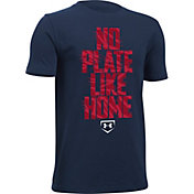 Under Armour Boys' No Plate Like Home Graphic T-Shirt