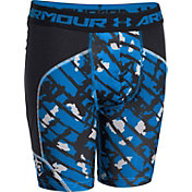 Under Armour Boys' Composite Camo Performance Sliding Shorts