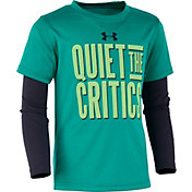 Under Armour Little Boys' Quiet The Critics Long Sleeve Shirt