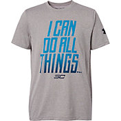 Under Armour Boys' SC30 I Can Do All Things Graphic Basketball T-Shirt