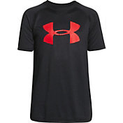 Under Armour Boys' Big Logo Tech T-Shirt