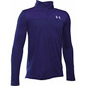 Under Armour Boys' Tech Prototype Quarter Zip Long Sleeve Shirt