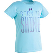Under Armour Little Girls' Born to Shine T-Shirt