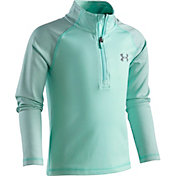 Under Armour Little Girls' Checkpoint Shimmer Quarter Zip Jacket