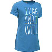 Under Armour Girls' I Can And I Will T-Shirt