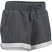 Under Armour Girls' 2'' Sweaterknit Studio Shorts