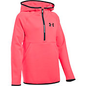 Under Armour Girls' Armour Fleece Half Zip Hoodie
