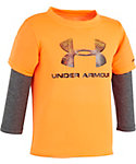 Under Armour Infant Boys' Hunt Big Logo Layered Shirt