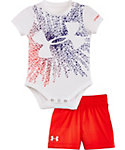 Under Armour Infant Starburst Logo Onesie Set