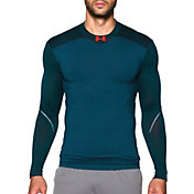 Under Armour Men's ColdGear Armour Elements Mock Neck Compression Long Sleeve Shirt