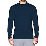 Under Armour Men's ColdGear Mock Long Sleeve Golf Shirt