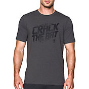 Under Armour Men's Crack The Bat Graphic Baseball T-Shirt