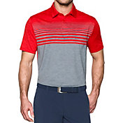 Under Armour Men's CoolSwitch Upright Stripe Golf Polo