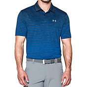 Under Armour Men's Trajectory Stripe Golf Polo