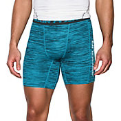 Under Armour Men's HeatGear CoolSwitch Twist Print Compression Shorts