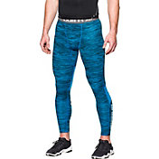 Under Armour Men's HeatGear CoolSwitch Twist Print Compression Leggings