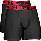 Under Armour Men's HeatGear Performance 6'' Boxerjock Boxer Briefs 2 Pack